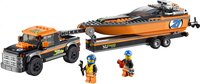 LEGO City 60085 Le 4x4 avec hors-bord-Avant