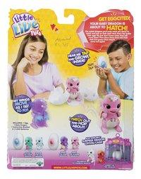 Interactieve figuur Little Live Pets Surprise Dragon roze/paars-Achteraanzicht