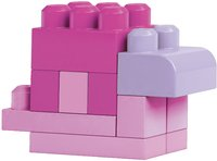 Mega Bloks First Builders Sac de blocs rose-Image 3