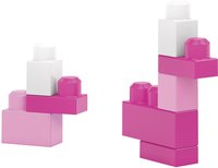 Mega Bloks First Builders Big Building Bag roze-Afbeelding 4