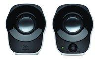 Logitech luidsprekerset Z120 zwart/wit-Vooraanzicht