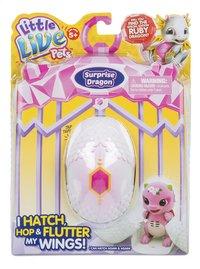 Interactieve figuur Little Live Pets Surprise Dragon roze/paars-Vooraanzicht