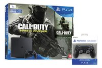 PS4 console 1 TB +  Call of Duty Infinite Warfare + Modern Warfare ENG/FR + 1 extra controller