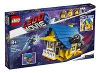 LEGO The LEGO Movie 2 70831 Emmets droomhuis/reddingsraket-Linkerzijde