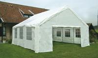 Set polyethyleen zijstukken voor feesttent 6 x 6 m