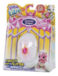Interactieve figuur Little Live Pets Surprise Dragon roze/paars-Rechterzijde