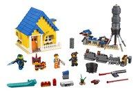LEGO The LEGO Movie 2 70831 Emmets droomhuis/reddingsraket-Vooraanzicht