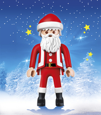 Playmobil Christmas 6629 Kerstman XXL-Afbeelding 1