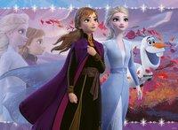 Ravensburger puzzel Disney Frozen II Glitter-Vooraanzicht