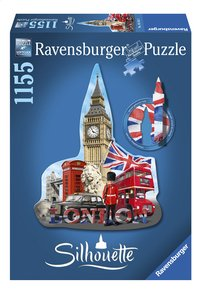 Ravensburger puzzel Silhouet Big Ben London