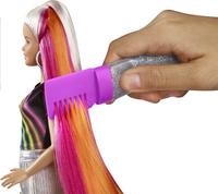 Barbie mannequinpop Regenboog glitterhaar-Afbeelding 1