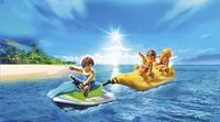 Playmobil Family Fun 6980 Jetski met bananenboot-Afbeelding 1