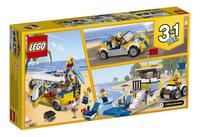 LEGO Creator 3-in-1 31079 Zonnig surferbusje-Achteraanzicht