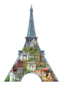 Ravensburger puzzel Silhouet Eiffeltoren Parijs-Vooraanzicht