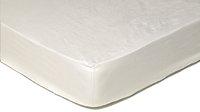 Sleepnight drap-housse ivoire en coton 200 x 200 cm-Avant