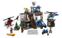 LEGO City 60174 Politiekantoor op de berg-Vooraanzicht
