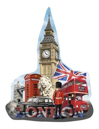 Ravensburger puzzel Silhouet Big Ben London-Vooraanzicht