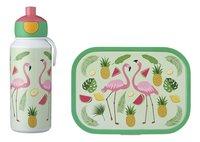 Mepal brooddoos en drinkfles Campus - Tropical flamingo-commercieel beeld