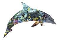 Ravensburger puzzel Silhouet Dolfijnenwereld-Vooraanzicht