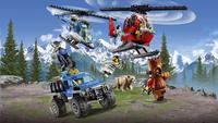 LEGO City 60174 Politiekantoor op de berg-Afbeelding 1