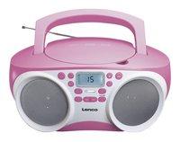 Lenco radio/lecteur CD SCD-200 rose clair-Détail de l'article