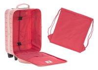 Lässig zachte reistrolley Flamingo 46 cm-Artikeldetail