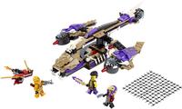 LEGO Ninjago 70746 L'hélicoptère de Condrai-Avant
