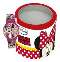 Horloge Minnie Mouse in tinnen doosje-Artikeldetail