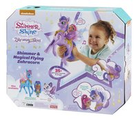 Fisher-Price Shimmer & Shine Magical Flying Zahracorn + Shimmer-Arrière