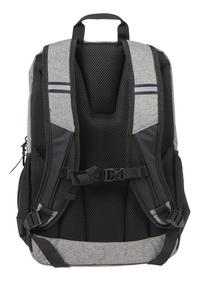Kangourou sac à dos Stripes Grey Snow-Arrière
