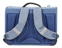 Kangourou boekentas blauw 39 cm-Achteraanzicht