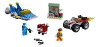 LEGO The LEGO Movie 2 70821 Emmets en Benny's bouw- en reparatiewerkplaats-Vooraanzicht