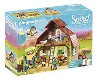 PLAYMOBIL Spirit 70118 Grange avec Lucky, Apo et Abigaëlle-commercieel beeld