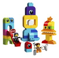 LEGO DUPLO The LEGO Movie 2 10895 Visite voor Emmet en Lucy van de DUPLO Planeet-Vooraanzicht