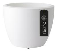 Elho bloempot Pure Soft round white diameter 40 cm-Vooraanzicht