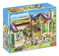 PLAYMOBIL Country 70132 Boerderij met silo en dieren-Linkerzijde