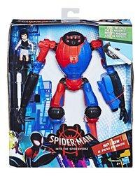 Spider-Man figuur Into The Spider-Verse Deluxe - SP//DR & Peni Parker-Vooraanzicht