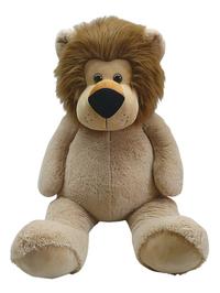 Reuze knuffel leeuw zittend 135 cm-Vooraanzicht