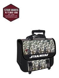 Cartable à roulettes Star Wars Stormtrooper noir 41 cm