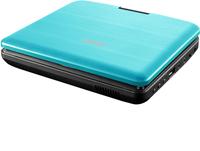 Lenco lecteur DVD portable DVP-754 7'' avec casque audio bleu-Vue du haut