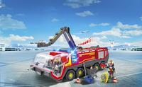 Playmobil City Action 5337 Pompiers avec véhicule aéroportuaire-Image 1