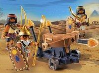 Playmobil History 5388 Soldats du pharaon avec baliste-Image 1