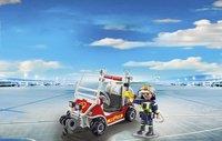 PLAYMOBIL City Action 5398 Chef des pompiers avec voiturette-Image 1
