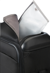 Samsonite zachte reistrolley Flux Soft Upright Black 55 cm-Artikeldetail