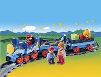 Playmobil 1.2.3 6880 Sterrentrein met passagiers-Afbeelding 1