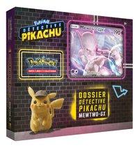 Pokémon JCC Détective Pikachu Dossier Mewtwo-GX-Côté gauche