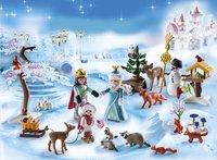 Playmobil Christmas 9008 Adventskalender Koninklijk schaatsfeest-Afbeelding 1