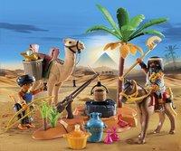 PLAYMOBIL History 5387 Pilleurs égyptiens avec trésor-Image 1