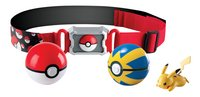 Tomy set Pokémon Clip 'n' Carry Poké Ball Belt Pikachu Quick Ball