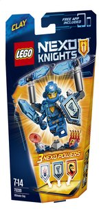 LEGO Nexo Knights 70330 Clay, l'ultime chevalier